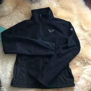 Mountain hardware black outdoor jacket L